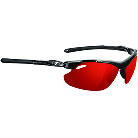 Tifosi Tyrant 2.0 Glasses gloss black - clarion red/AC red/clear